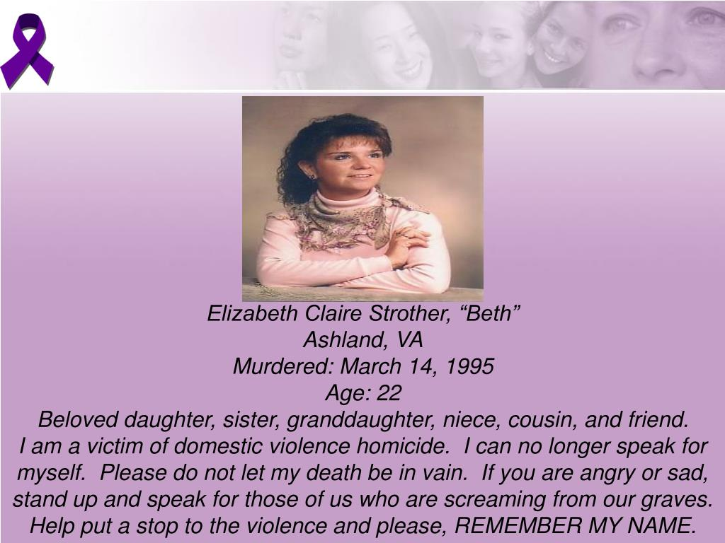 """Elizabeth Claire Strother, """"Beth"""""""