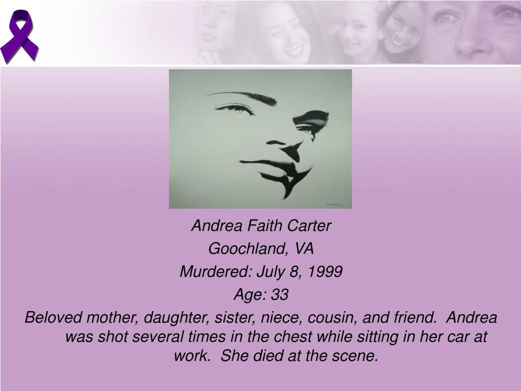 Andrea Faith Carter