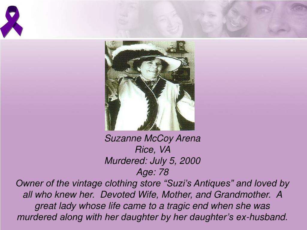 Suzanne McCoy Arena