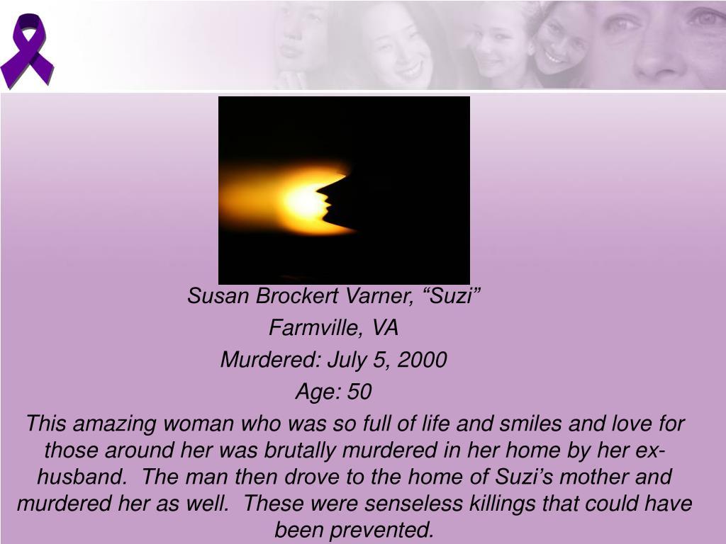 "Susan Brockert Varner, ""Suzi"""