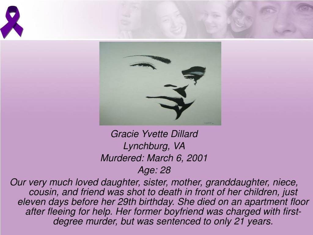 Gracie Yvette Dillard