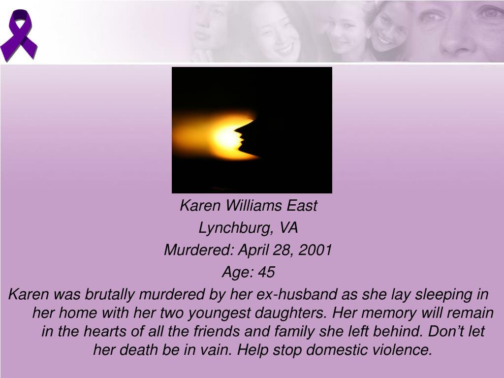 Karen Williams East