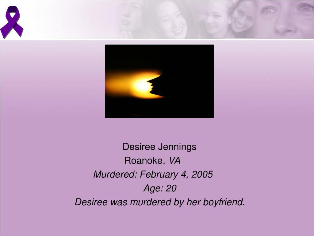 Desiree Jennings