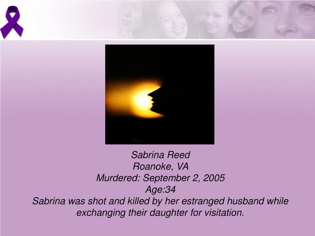 Sabrina Reed
