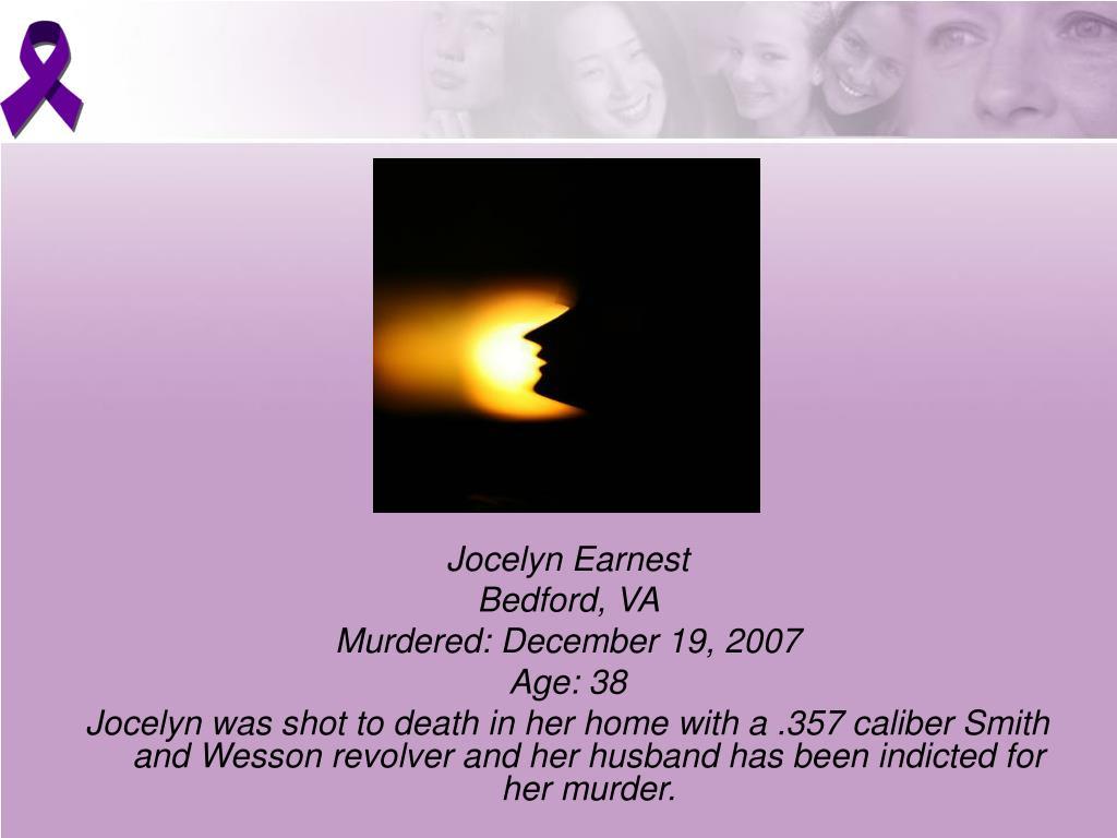 Jocelyn Earnest