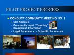 pilot project process10