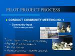 pilot project process8