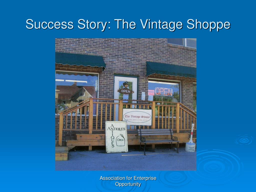Success Story: The Vintage Shoppe