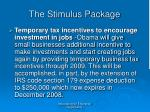 the stimulus package44