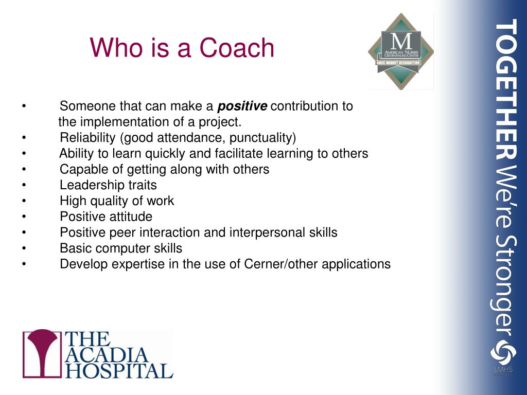 Who is a Coach