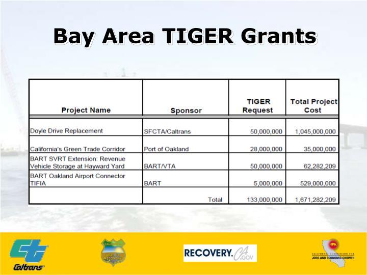 Bay Area TIGER Grants
