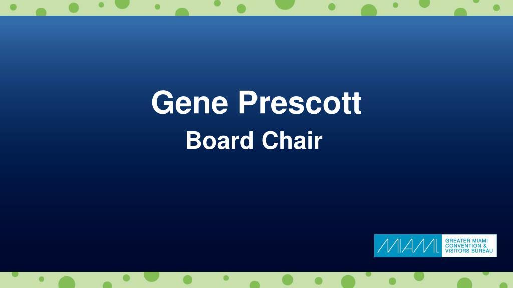 Gene Prescott
