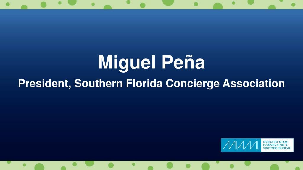 Miguel Peña
