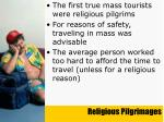 religious pilgrimages