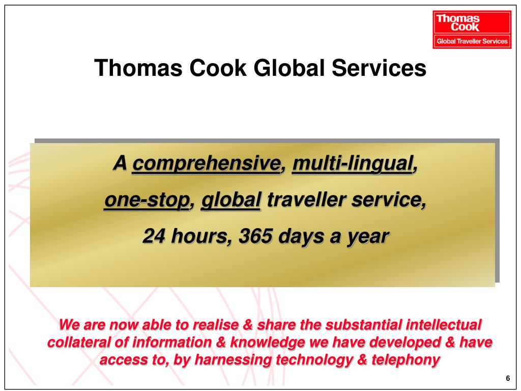 Thomas Cook Global Services