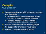 compiler cls extender
