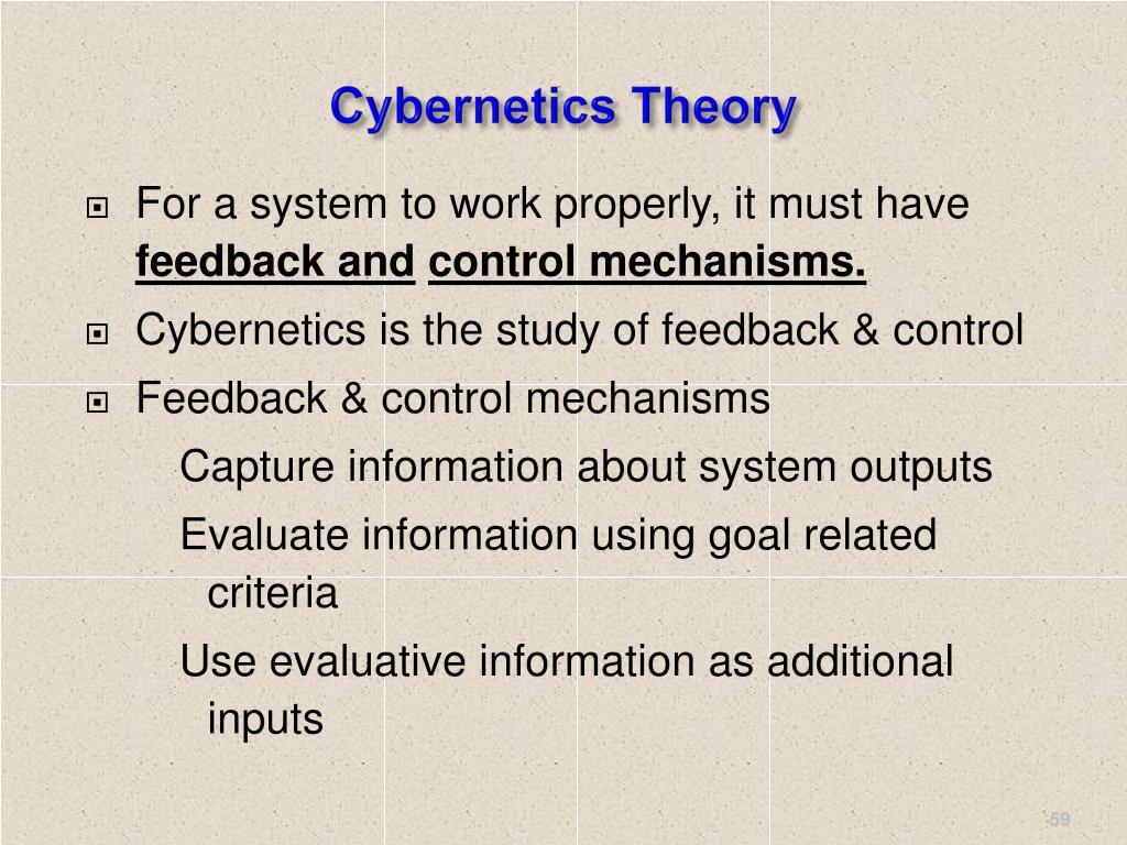 Cybernetics Theory