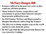 mcnary haugen bill