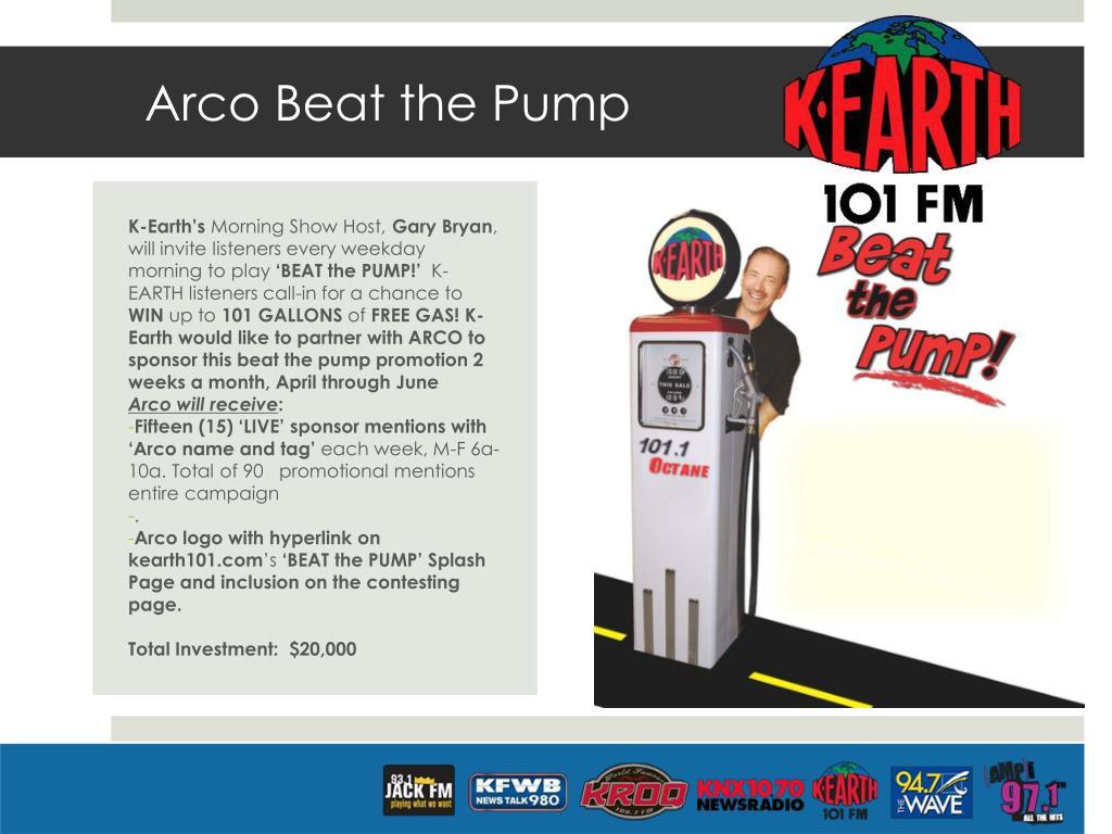 Arco Beat the Pump