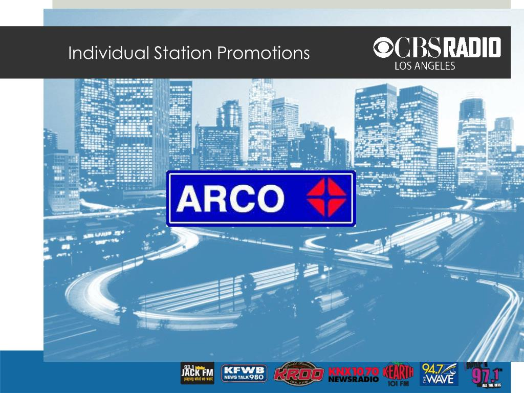 Individual Station Promotions