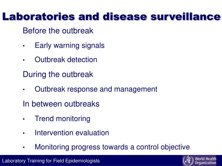Laboratories and disease surveillance