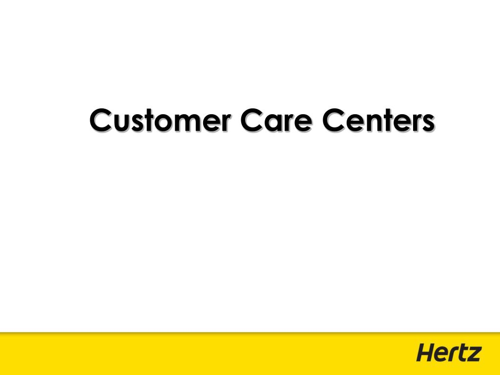 Customer Care Centers
