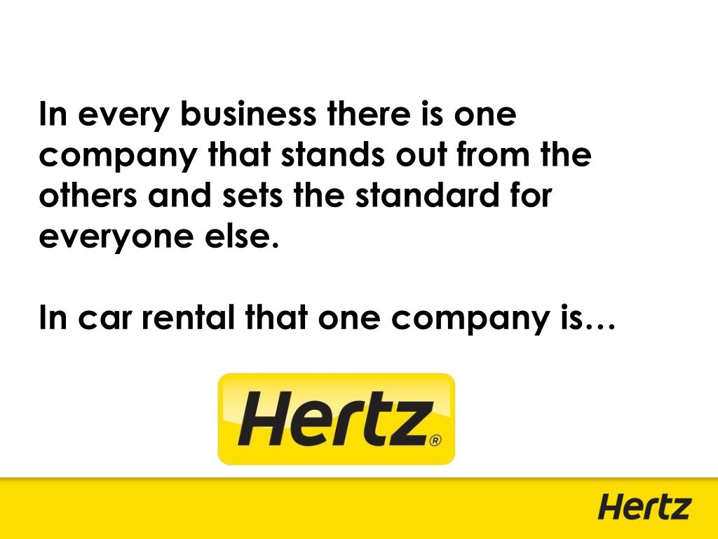 In every business there is one company that stands out from the others and sets the standard for everyone else.