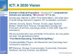 ict a 2030 vision