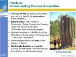 interface understanding process automation