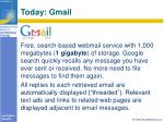 today gmail
