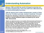 understanding automation