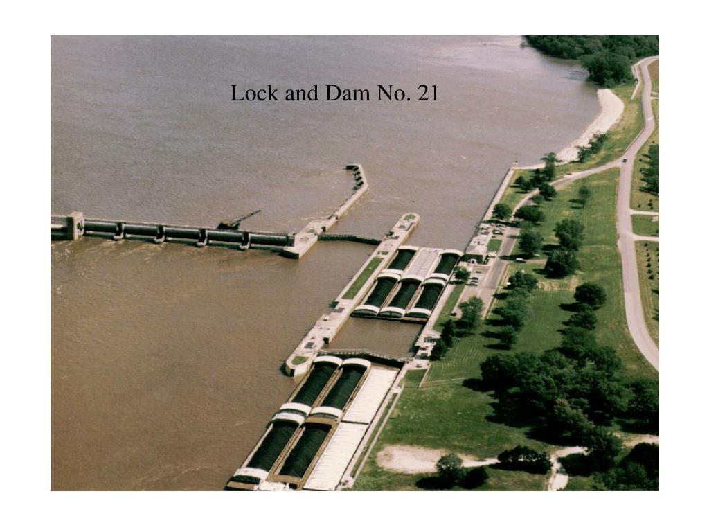 Lock and Dam No. 21