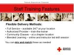 staff training features