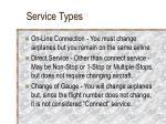 service types10