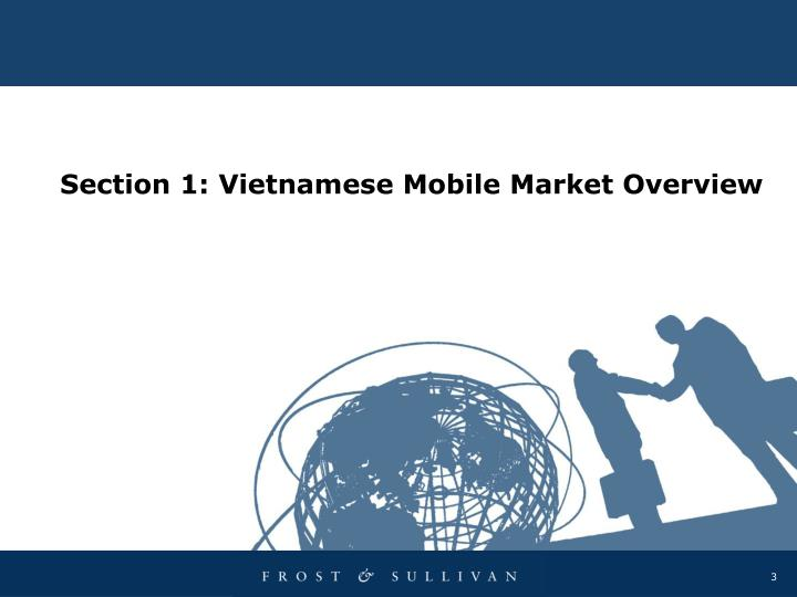 Section 1 vietnamese mobile market overview