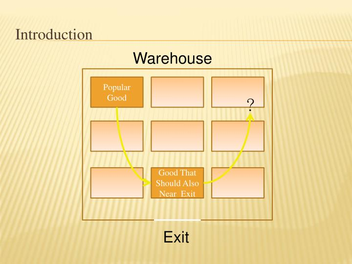Ppt warehousing and inventory management warehouse space and.
