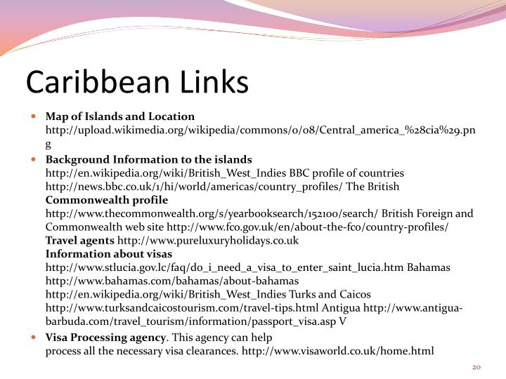 Caribbean Links