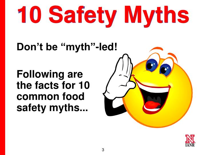 10 safety myths