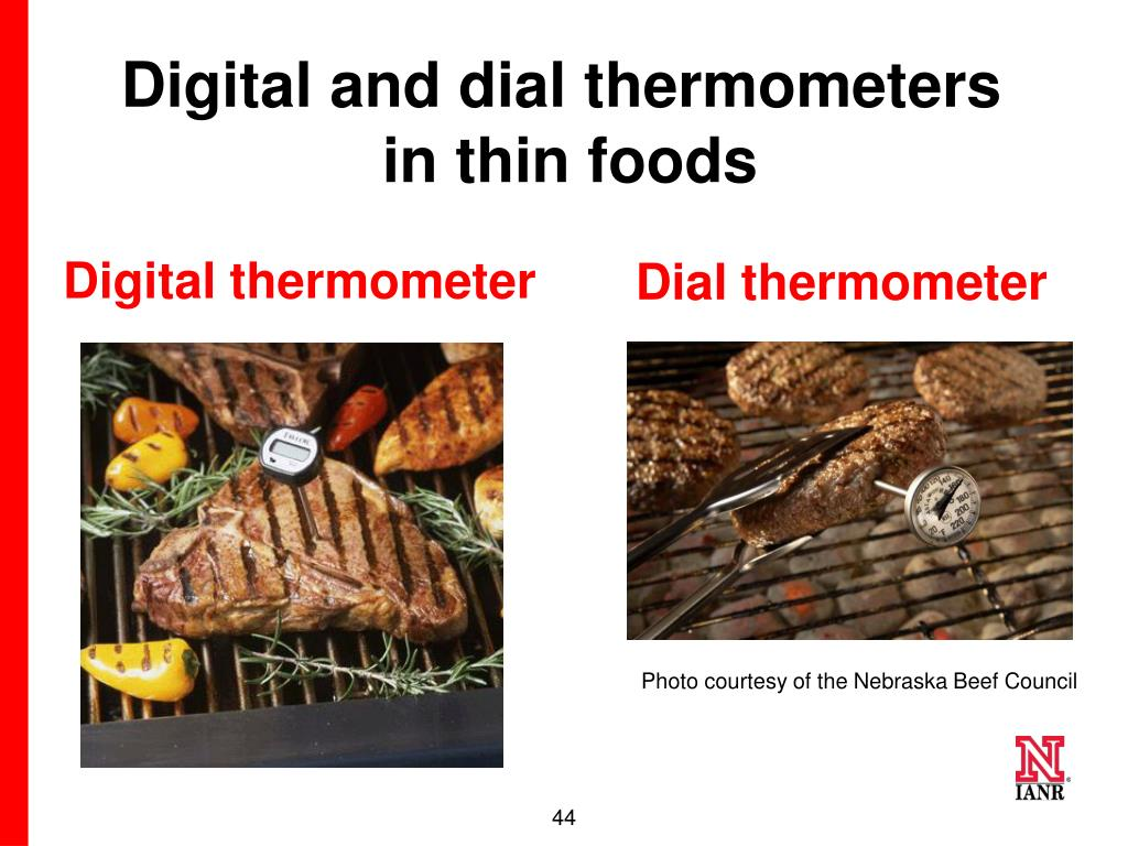 Digital and dial thermometers
