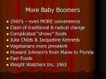 more baby boomers