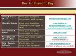 best gf bread to buy