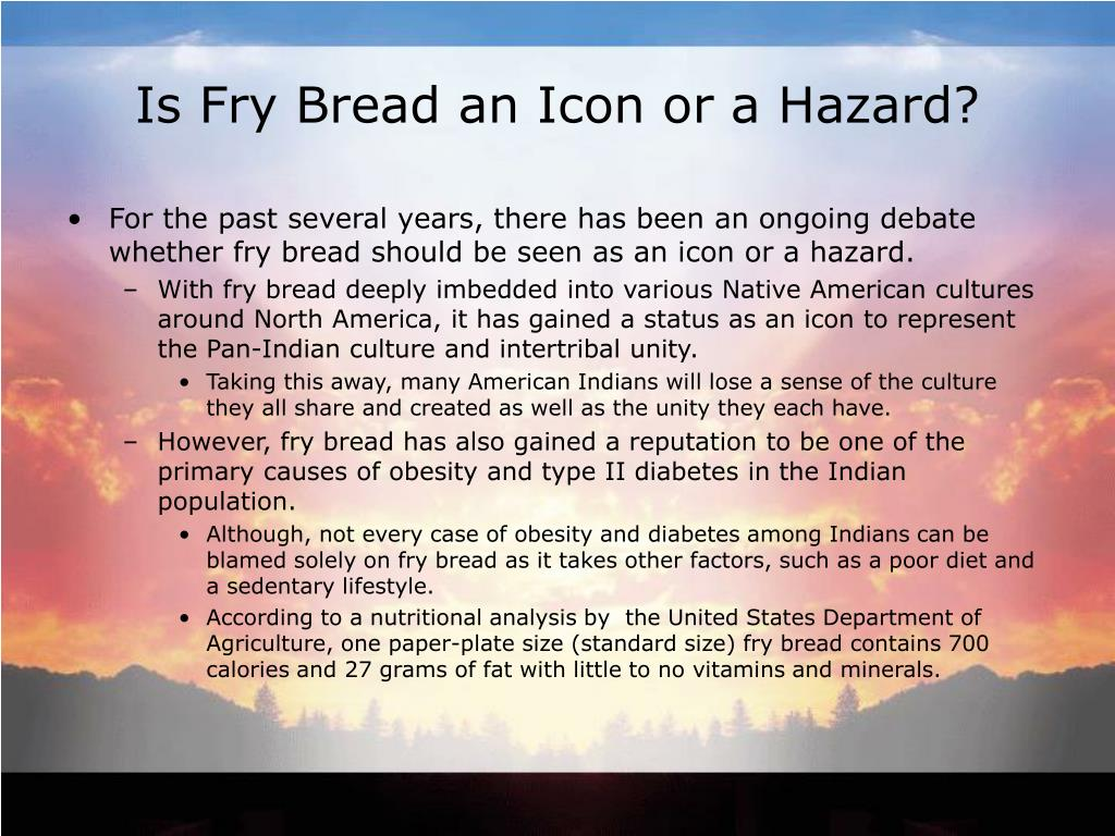 Is Fry Bread an Icon or a Hazard?