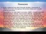 powwows