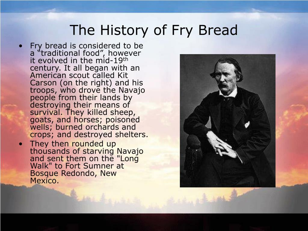 The History of Fry Bread