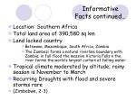 informative facts continued6