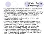 lifestyle dating marriage