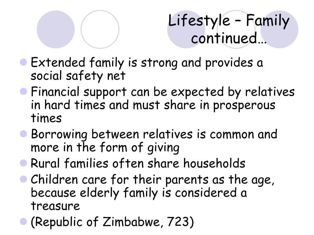 Lifestyle – Family continued…
