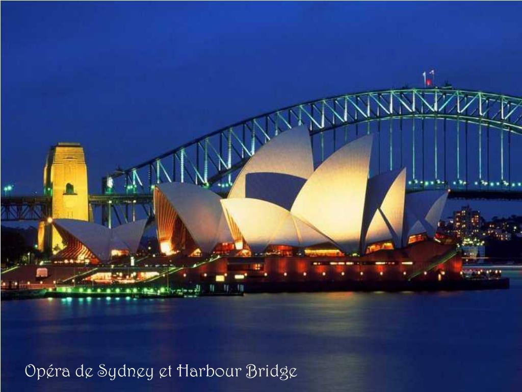 Opéra de Sydney et Harbour Bridge