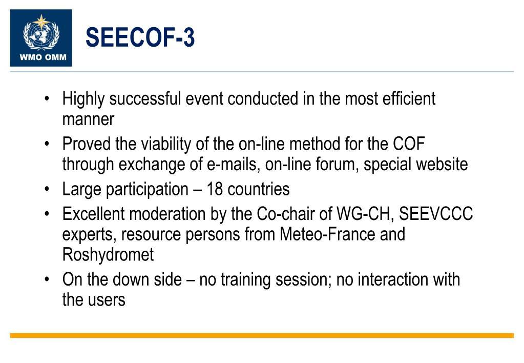 SEECOF-3