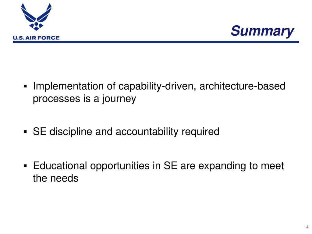 PPT - A Perspective on System Engineering - Delivering ...